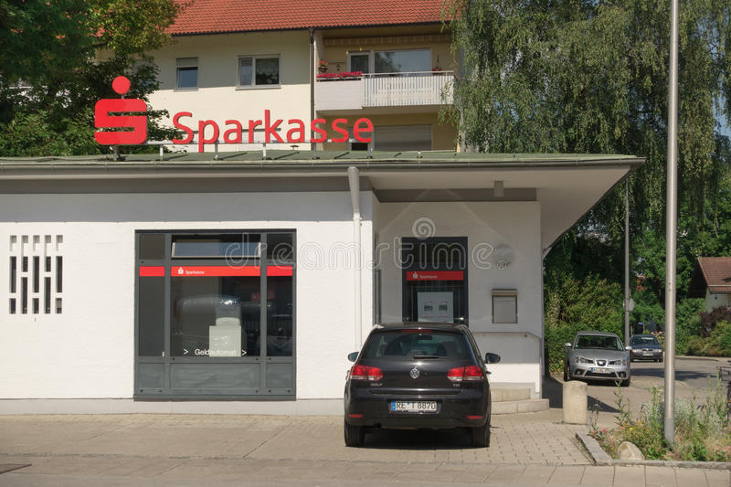 Sparkasse Editorial Stock Photo
