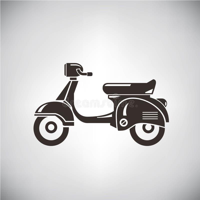 sparkcykel royaltyfri illustrationer