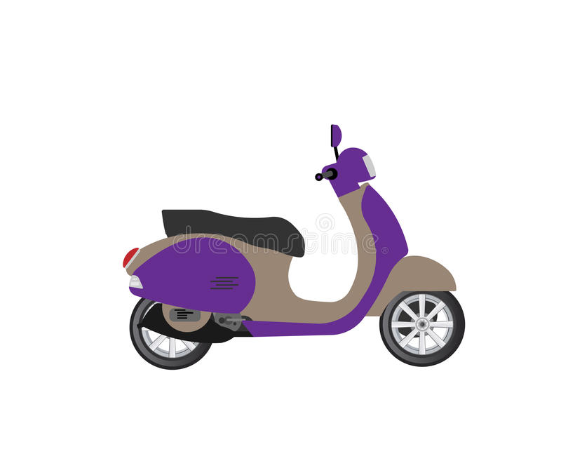 sparkcykel stock illustrationer