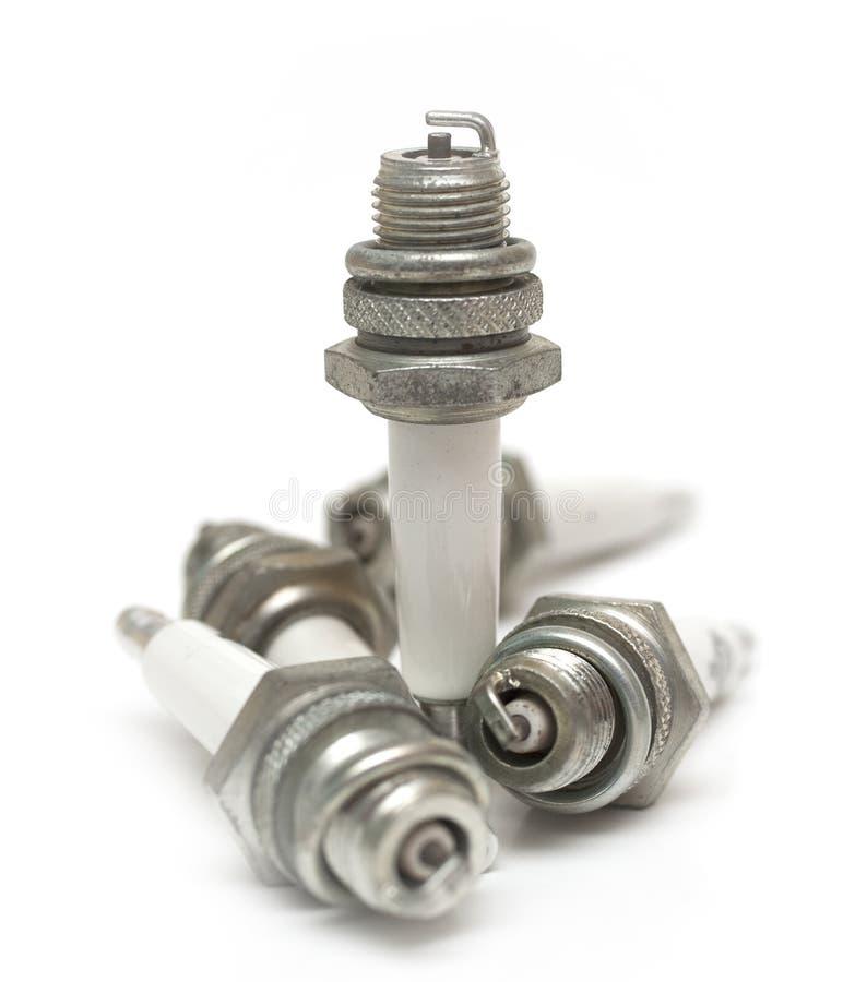 Sparking plug stock photo