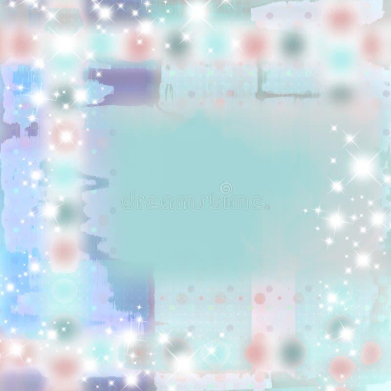 sparkle абстрактного grunge предпосылки мягкий иллюстрация вектора