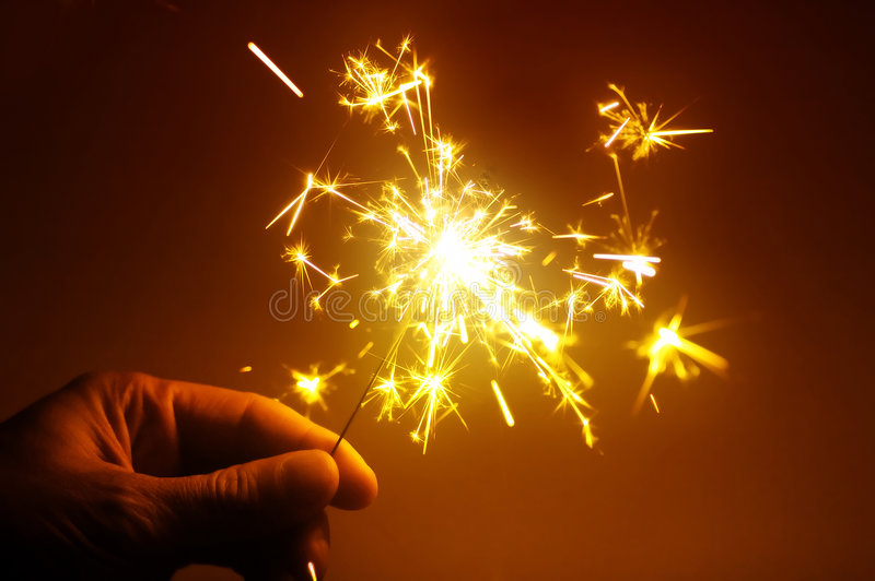 Download Sparkle stock image. Image of abstract, hand, light, firework - 6707475