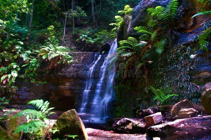 Sparkle dust 5001. Fairy Bower fall,Morton National park Bundanoon,NSW Australia royalty free stock photos