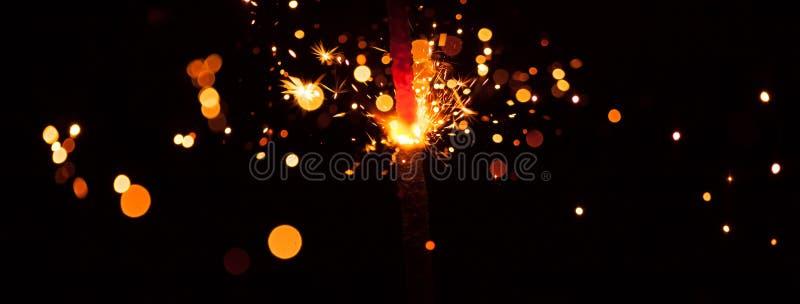 Sparkler рождества стоковые фото