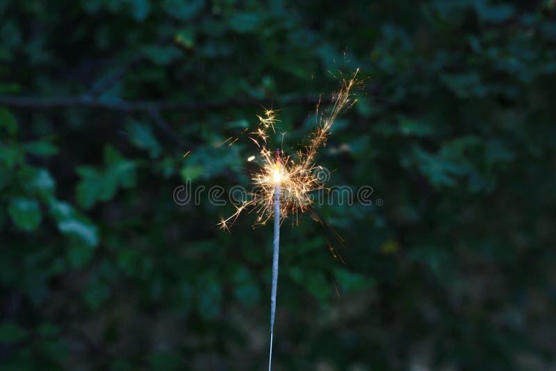 sparkler stock afbeelding