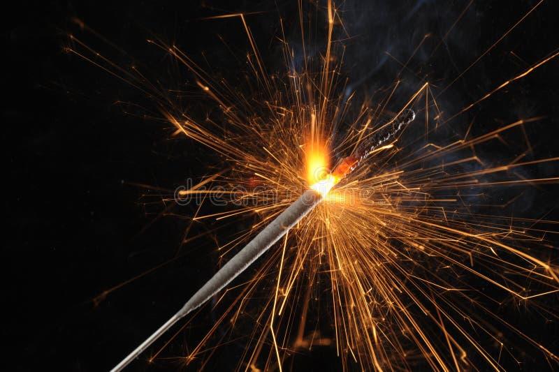 Sparkler stockfoto