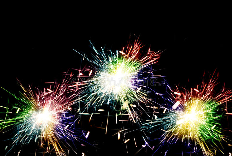 sparkler стоковая фотография rf