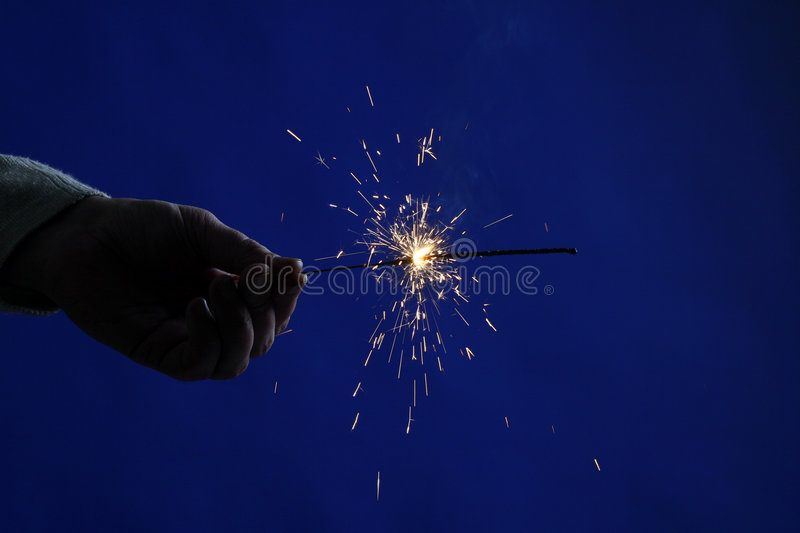 Sparkler 2 Royalty Free Stock Photography
