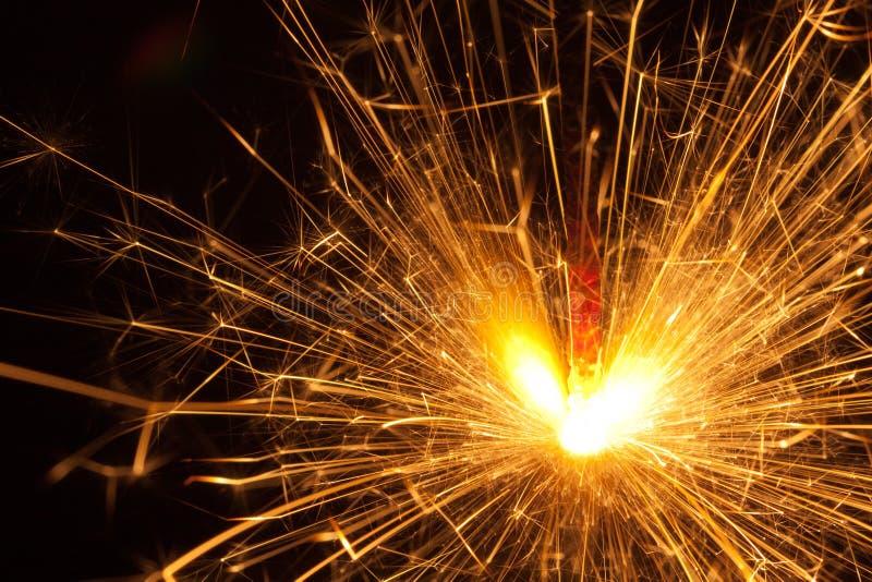 Sparkler stockfotografie