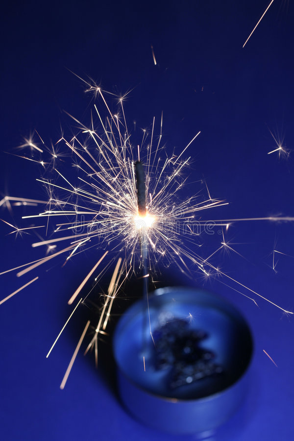 Sparkler stock photos