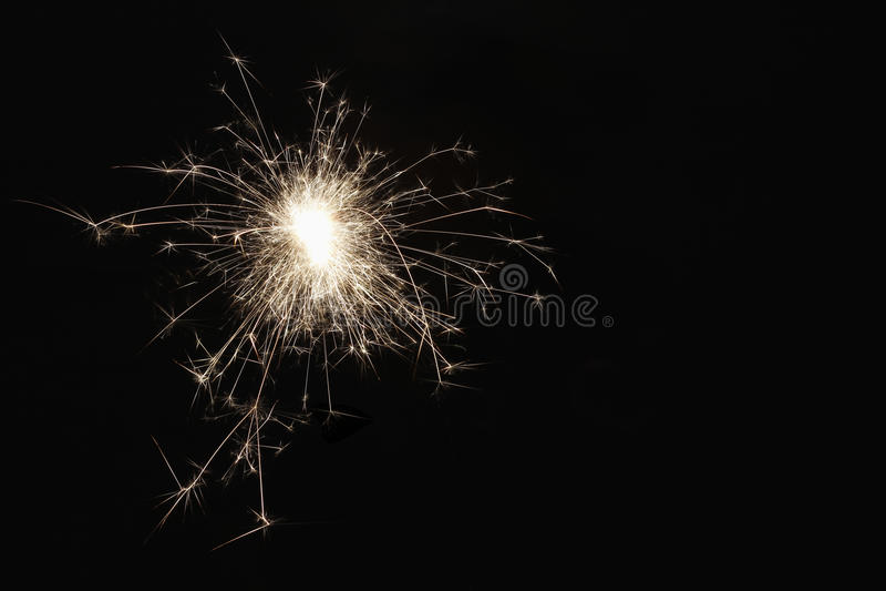 sparkler obraz royalty free