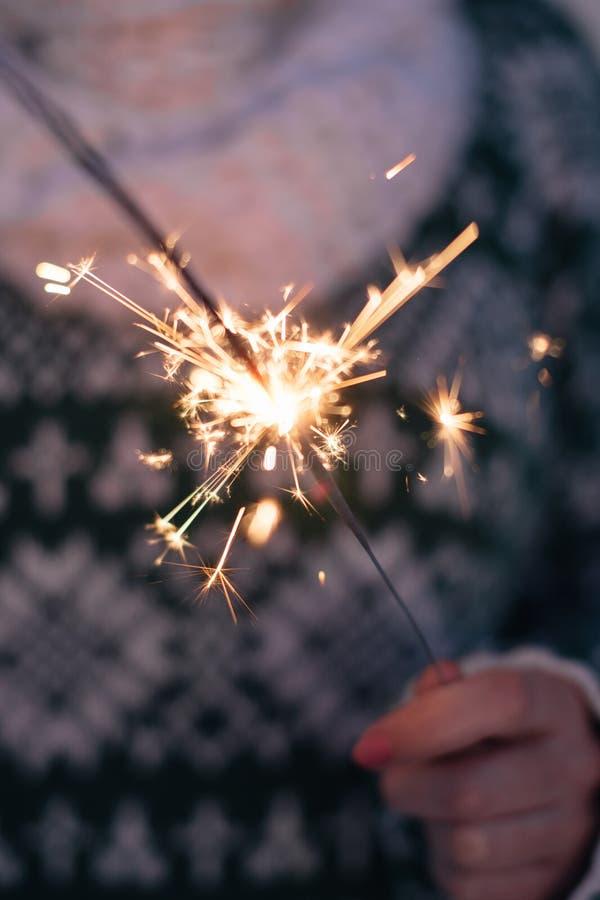sparkler royalty-vrije stock foto's