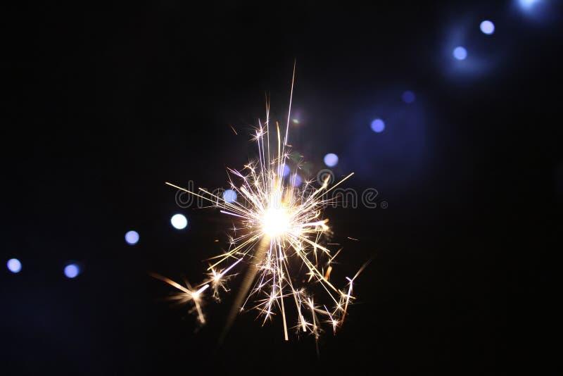 sparkler stock foto's