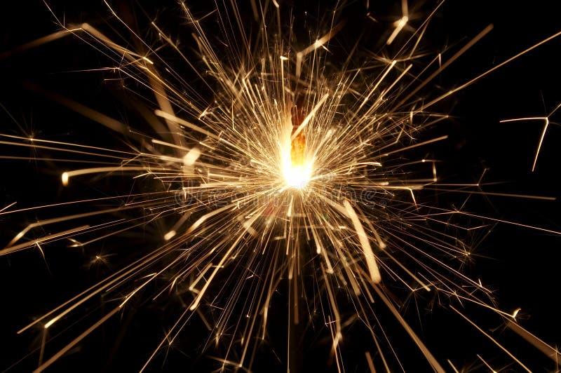 Sparkler-6 fotografia stock libera da diritti