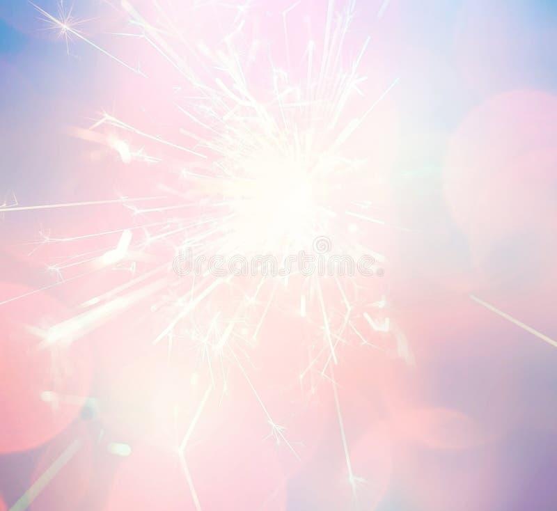 sparkler royaltyfri bild