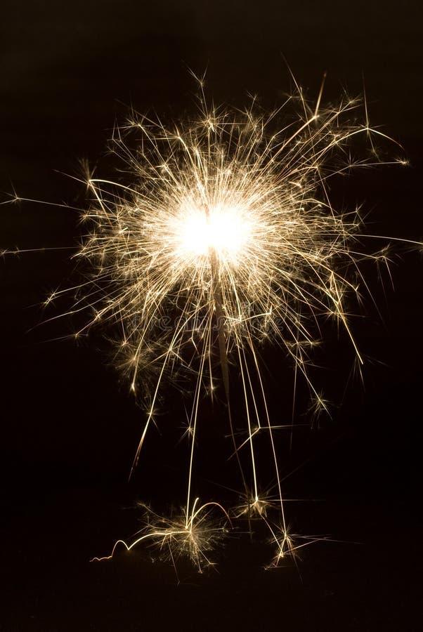 Sparkler Del Partido Fotos de archivo