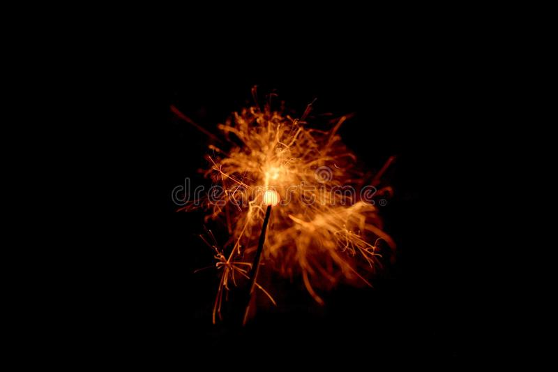 Sparkler for Stock projects stock photo
