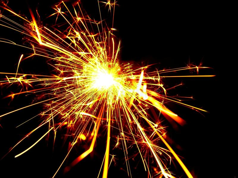 Sparkler for Stock projects royalty free stock photo