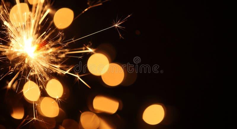Sparkler tło fotografia stock