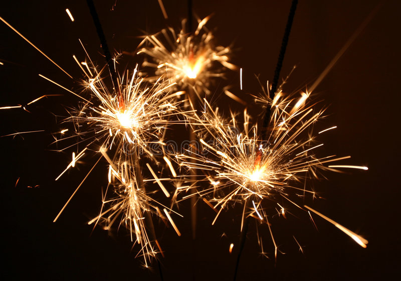Sparklers images stock