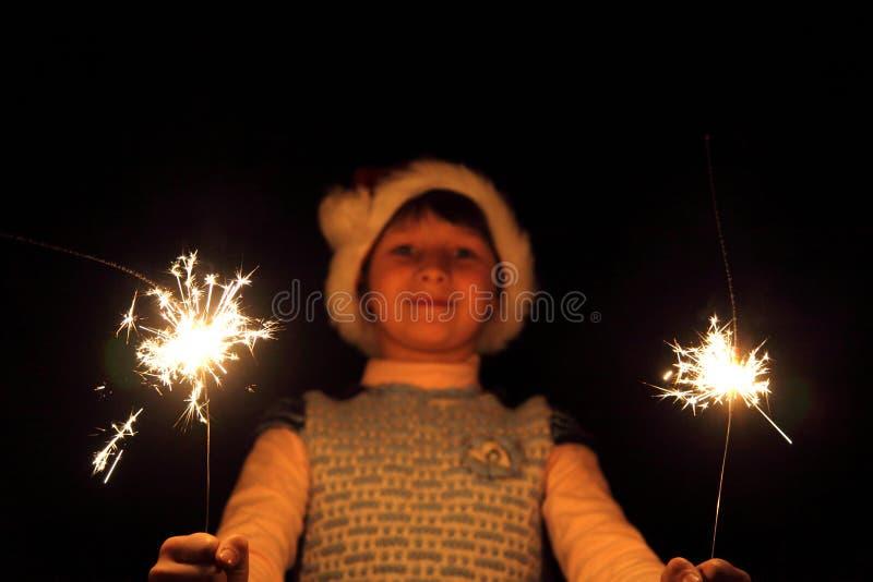 sparklers immagini stock libere da diritti
