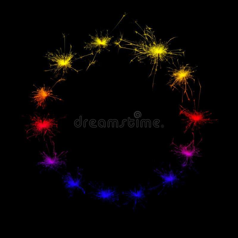 sparklers fotografie stock