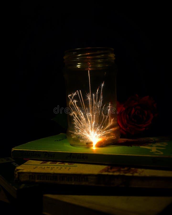 sparklers fotografia stock libera da diritti