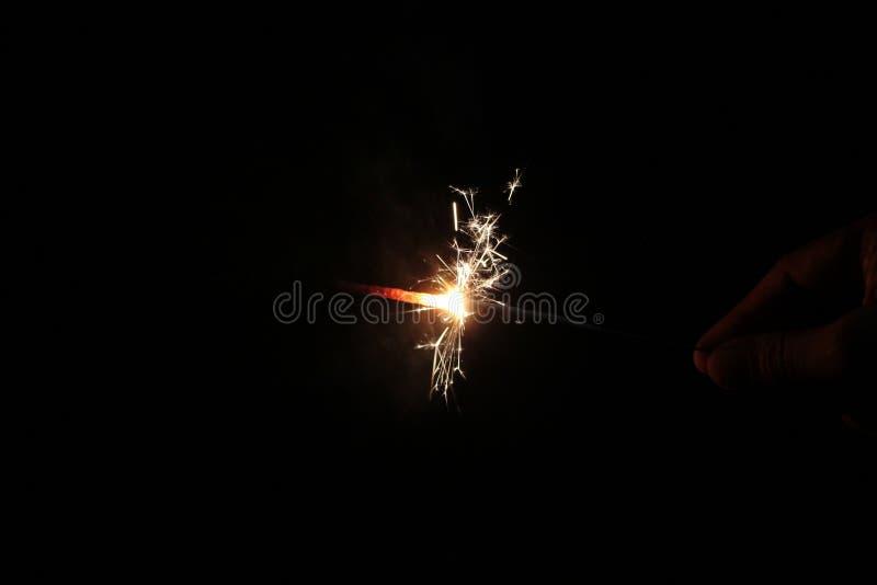 sparklers immagine stock libera da diritti