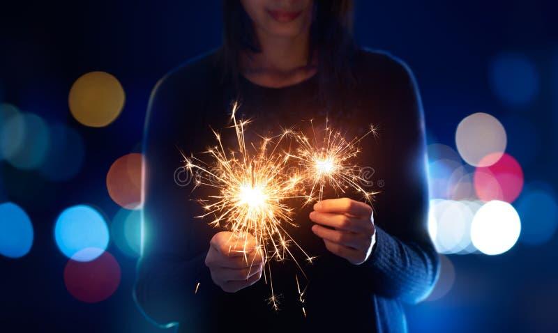 sparklers royalty-vrije stock fotografie