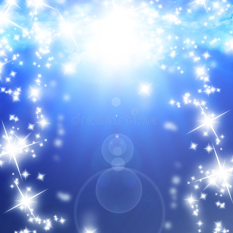 Sparkles royaltyfri illustrationer