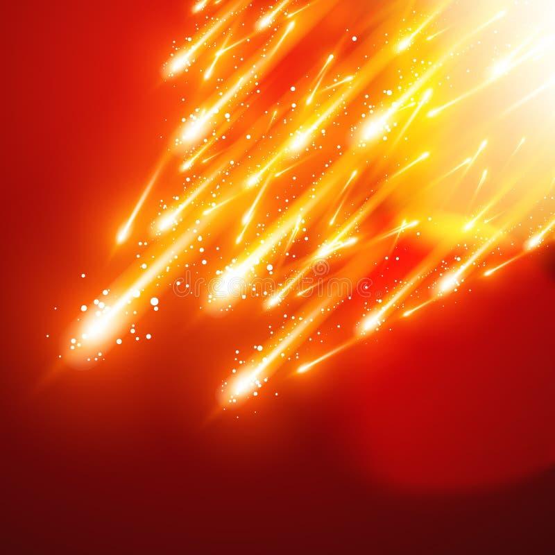 Sparkles brilhantes ilustração royalty free