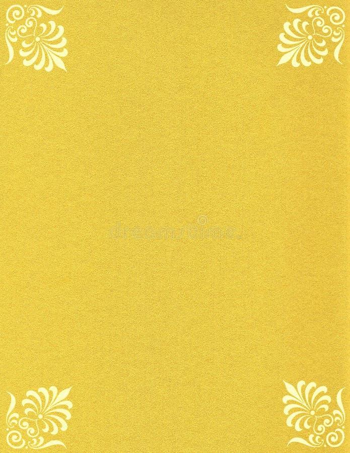 sparkles för färgguldpapper royaltyfri illustrationer