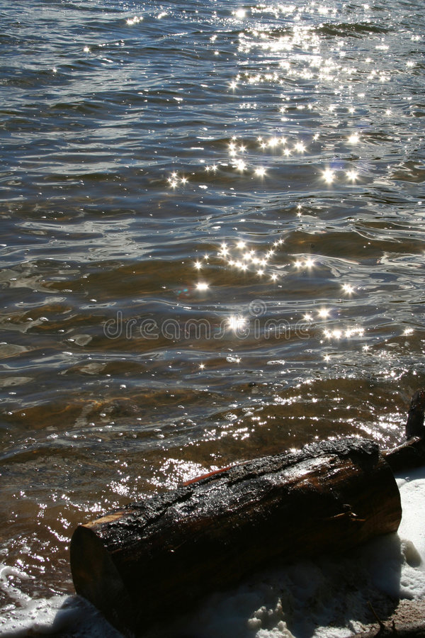 Download Sparkles on water stock image. Image of reflection, sunlight - 195431
