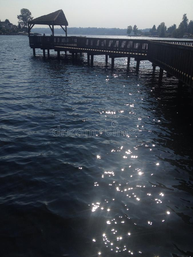 Sparkles on water royalty free stock images