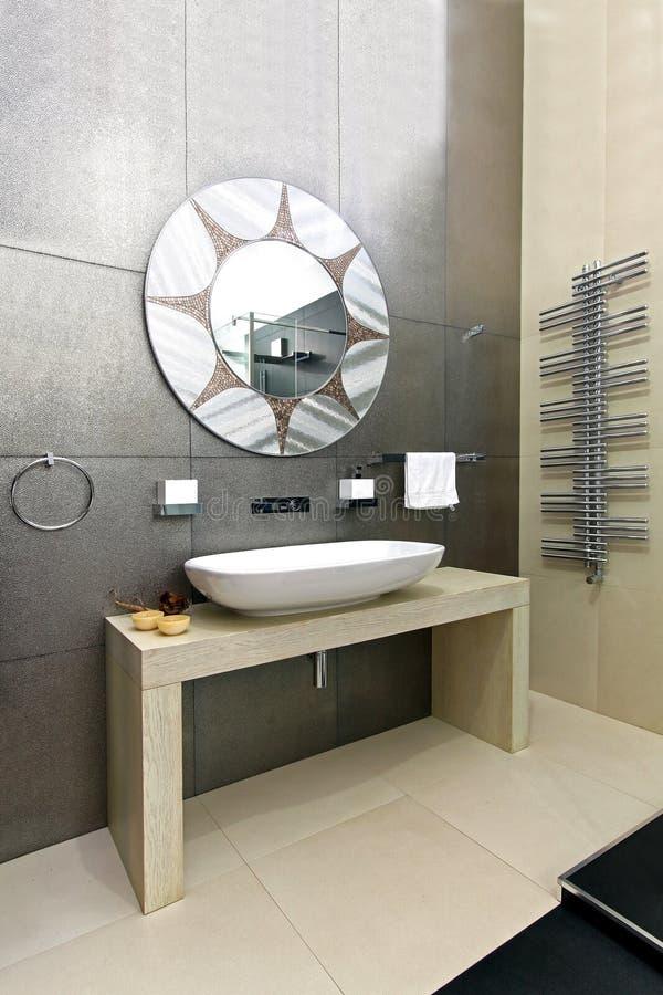 Sparkling bathroom royalty free stock image