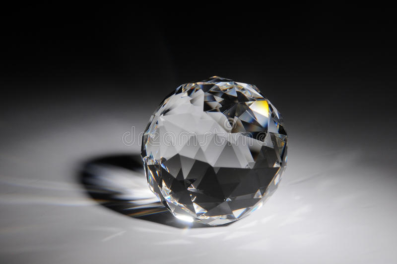 Download Sparkling Crystal On Black Background Stock Photo - Image: 21346998