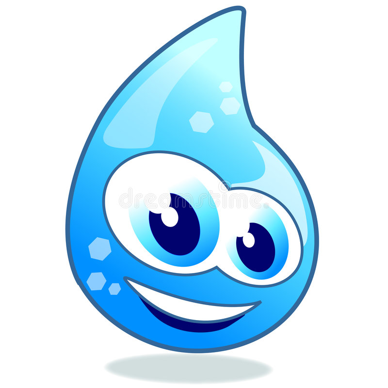 Download Sparkling drop of water stock vector. Image of climate - 8880779