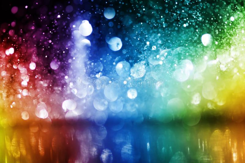 Download Sparkling Glittering Lights Abstract Stock Image - Image of blurred, soft: 100815713