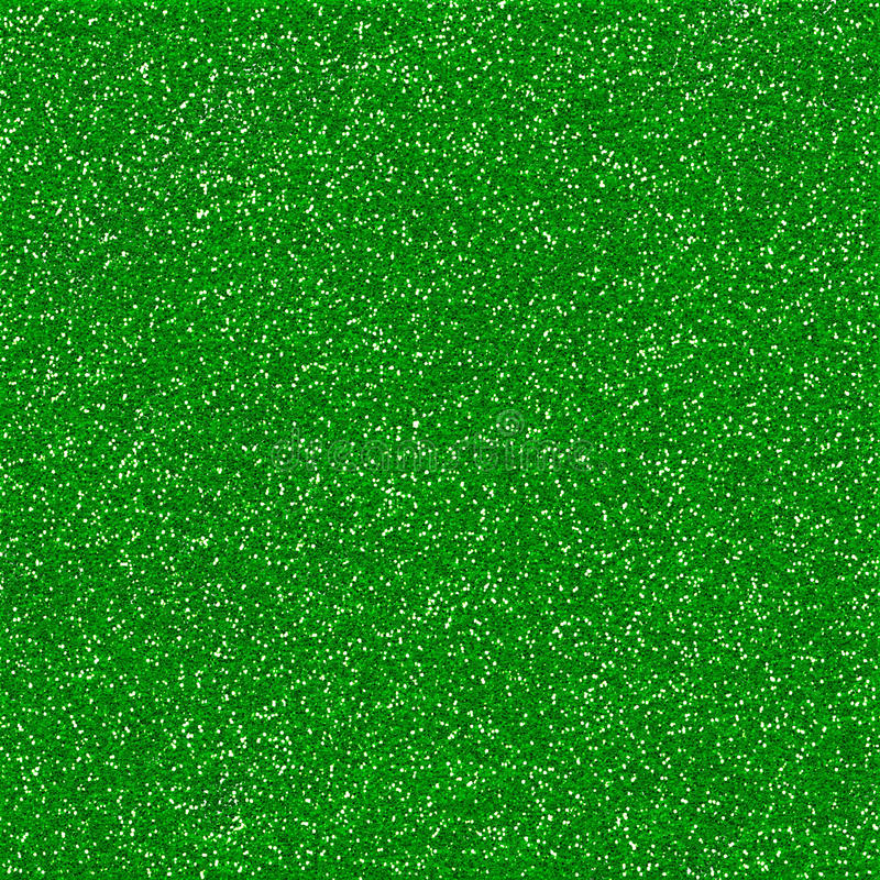 Sparkling Green Glitter Background Texture stock photography