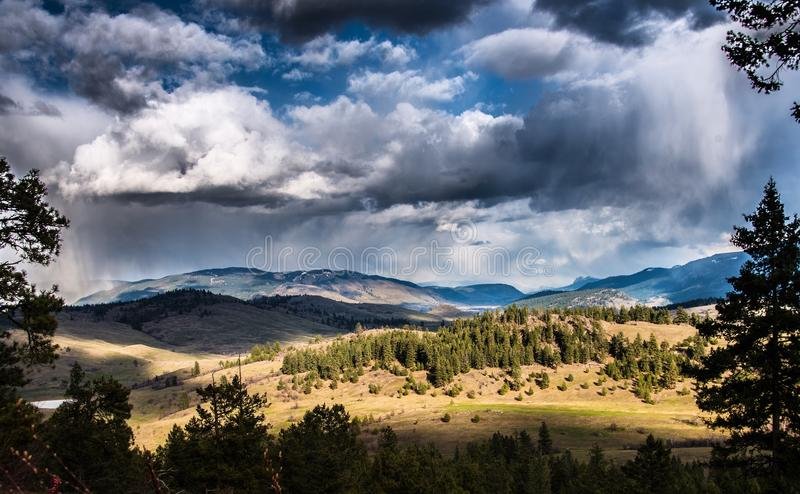 Sparkling Hill royalty free stock images