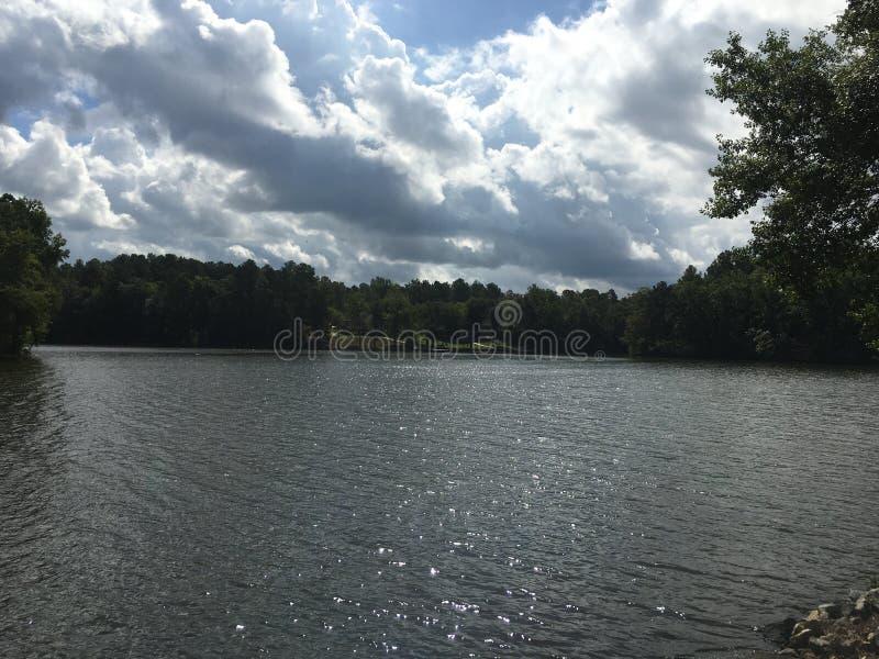 Sparkling Lake royalty free stock images