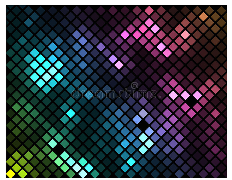 Download Sparkling Mosaic stock illustration. Image of patterns - 28186302