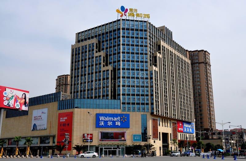 Download Pengzhou,China: Walmart Shopping Center Editorial Stock Image - Image: 30070304