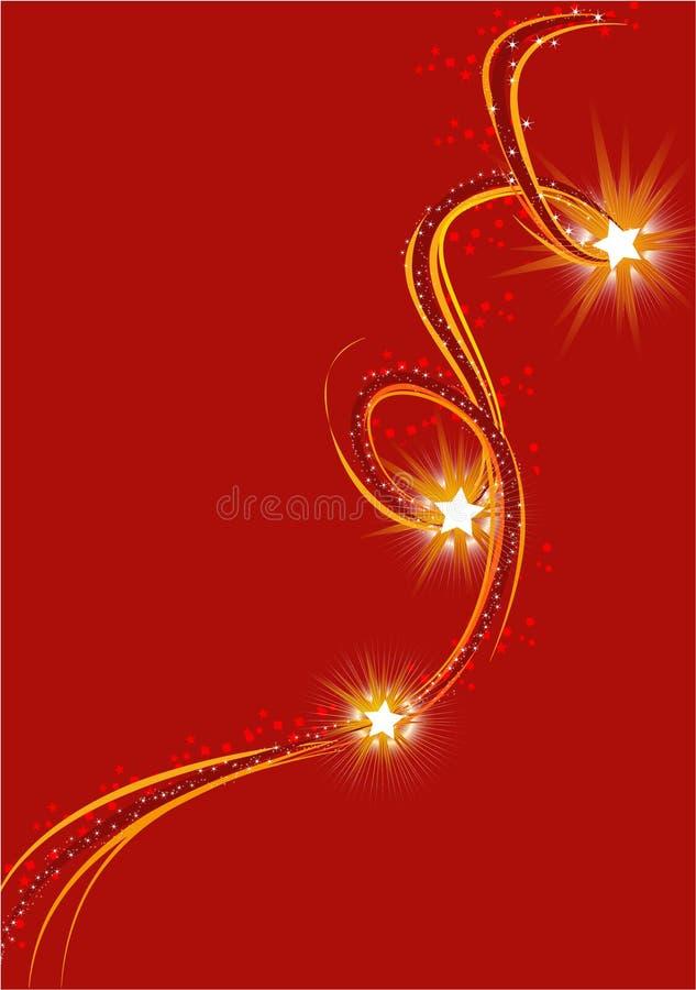 Sparkling Stars royalty free stock image