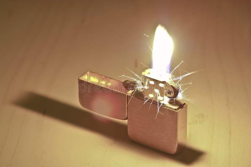 Sparkling tändare royaltyfri foto