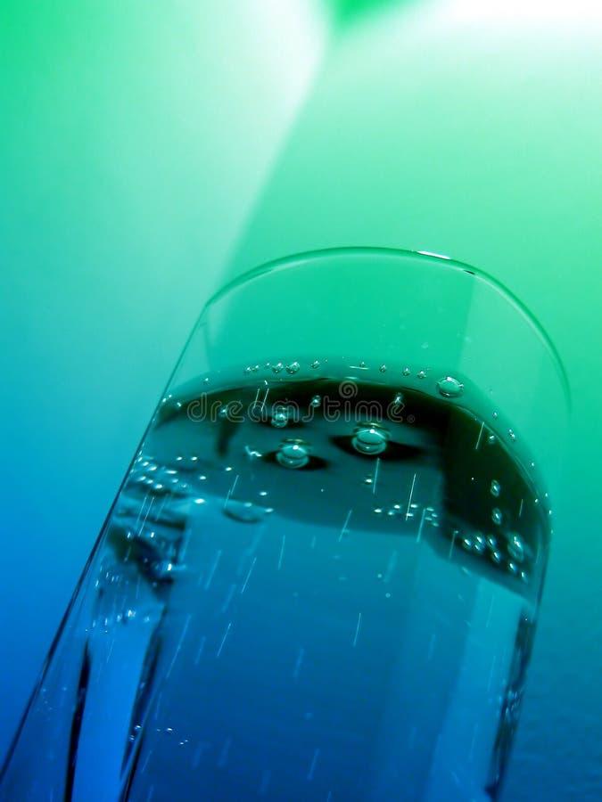 sparkling vatten royaltyfria bilder