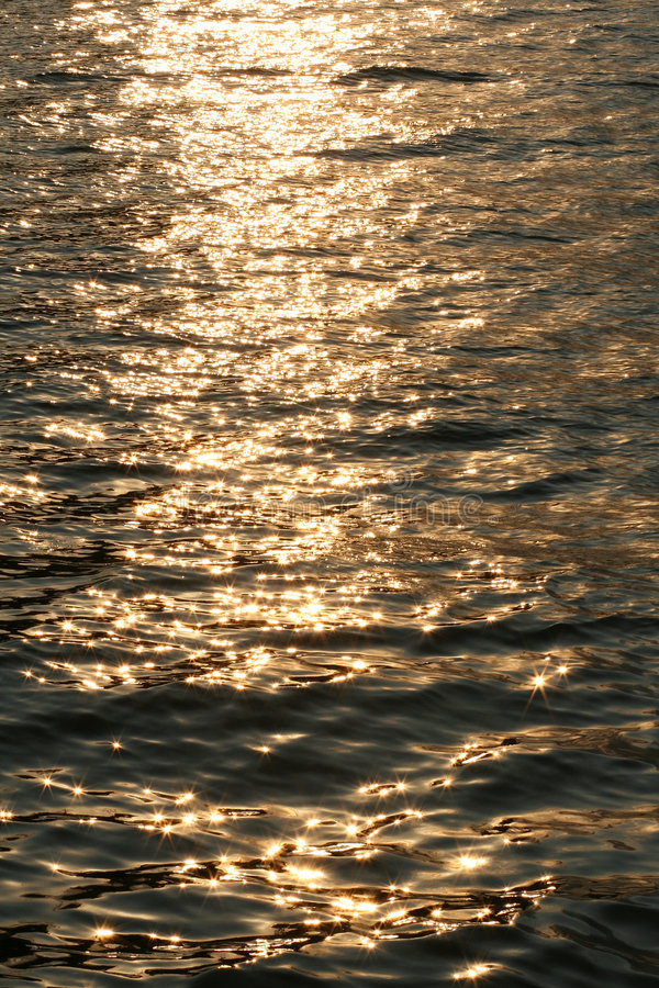 Sparkling water or sea surface royalty free stock photo