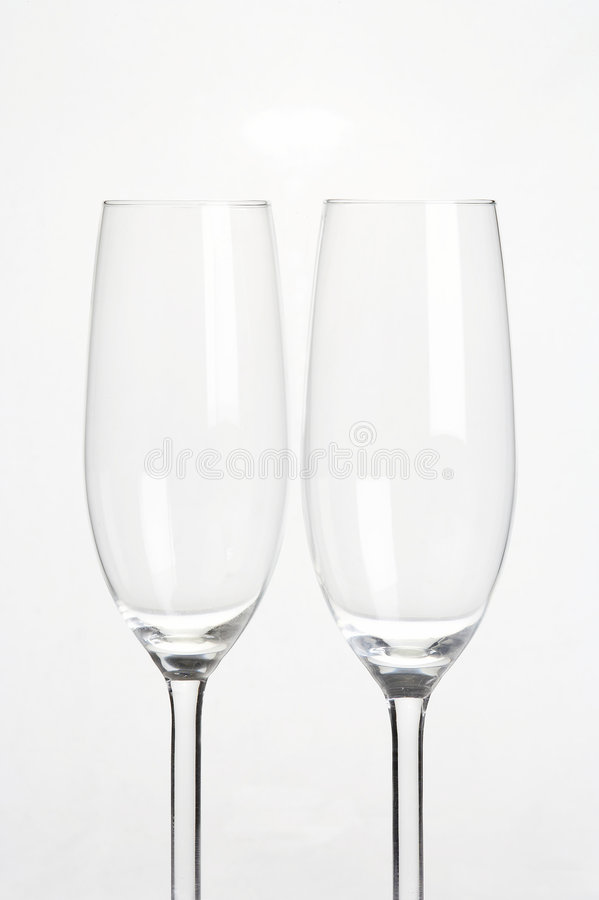 sparkling wine för exponeringsglassektglaeser royaltyfri bild