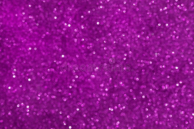 Sparkly blänka, rosa bakgrundsbokeheffekt arkivbilder