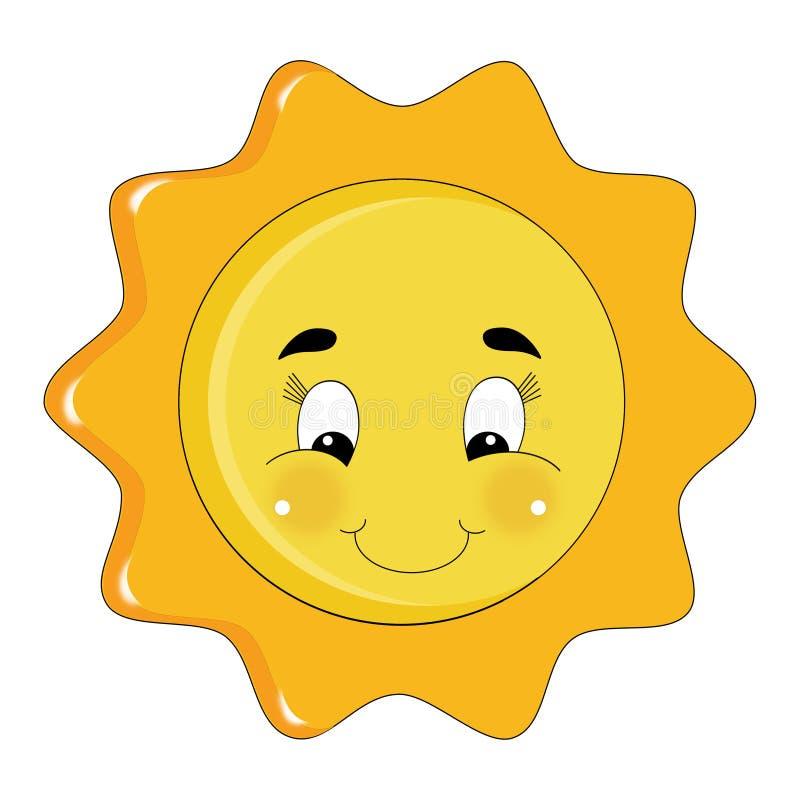 Download Sparkly bright sun stock illustration. Image of sunshine - 25988846